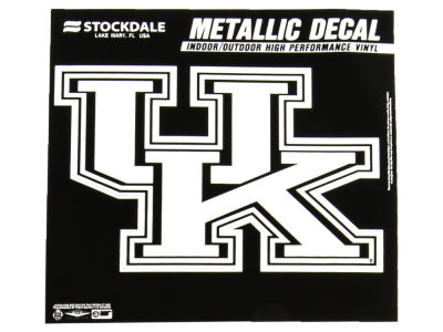 Kentucky Wildcats 3x6 Metallic Decal