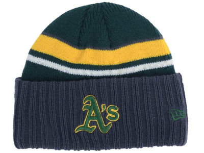 Oakland Athletics New Era MLB Prep Class Knit