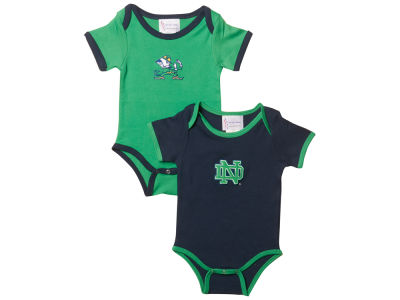 Notre Dame Fighting Irish NCAA Infant 2 Pack Contrast Creeper