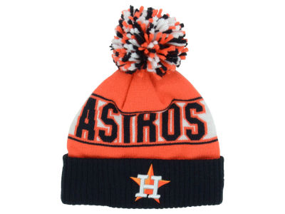 Houston Astros New Era MLB Rep Your Team Pom Knit