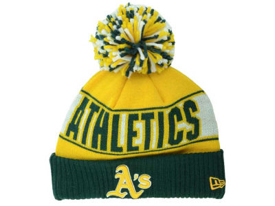 Oakland Athletics New Era MLB Rep Your Team Pom Knit