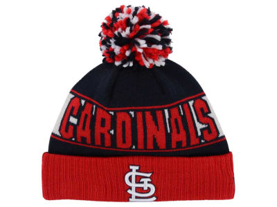 St. Louis Cardinals New Era MLB Rep Your Team Pom Knit