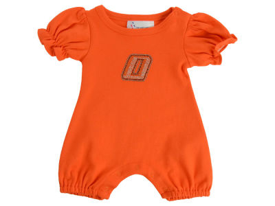 Oklahoma State Cowboys NCAA Infant Girls Romper Rhinestone
