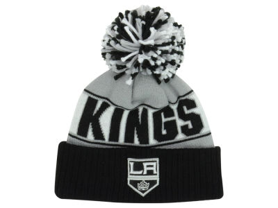 Los Angeles Kings New Era NHL Rep Your Team Pom Knit