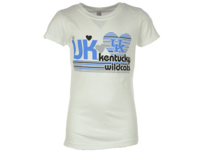 Kentucky Wildcats NCAA Youth Girl Heart T-Shirt