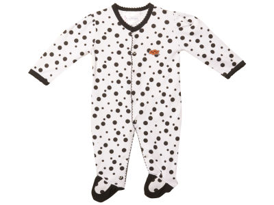 Oklahoma State Cowboys NCAA Infant Polka Dot Creeper
