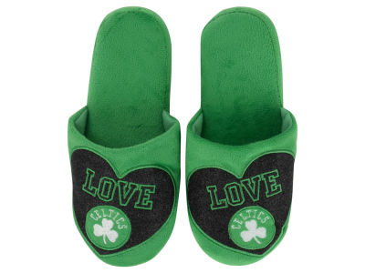 Boston Celtics Love Glitter Ladies Slide Slipper
