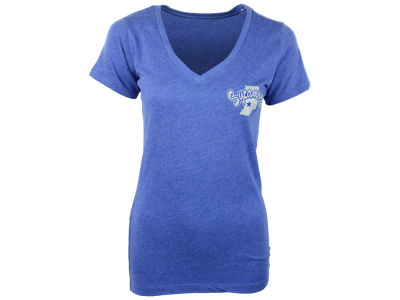 Indiana State Sycamores NCAA Womens Bira Vneck T-Shirt 2014