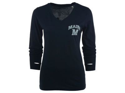 Maine Black Bears NCAA Women's Arial Long Sleeve T-Shirt
