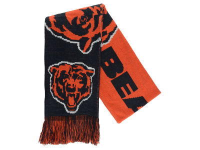 Chicago Bears Acrylic Knit Scarf Big Logo