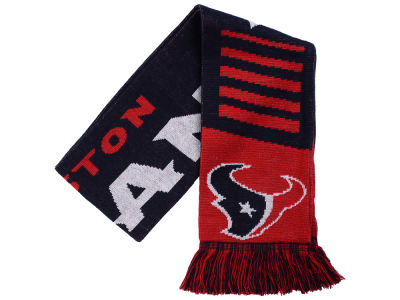 Houston Texans Knit Scarf Wordmark