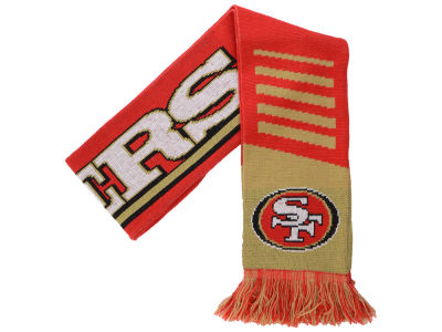 San Francisco 49ers Knit Scarf Wordmark