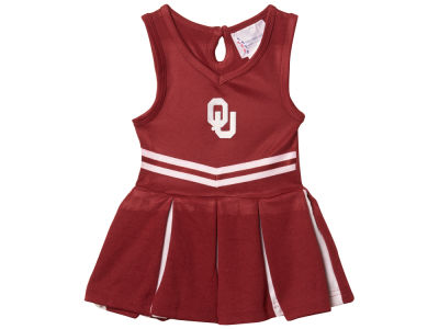 Oklahoma Sooners NCAA Newborn Cheer Dress