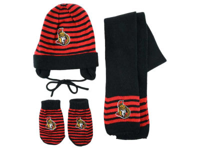 Ottawa Senators 3pk Toddler Winter Set