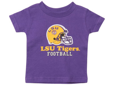 LSU Tigers Atlanta Hosiery NCAA Newborn Football T-Shirt