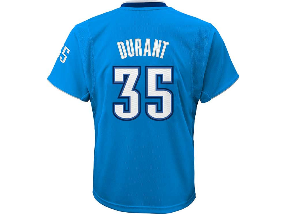 Oklahoma City Thunder Kevin Durant adidas NBA Men\'s Christmas Day ...