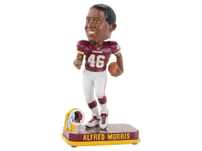 Washington Redskins Alfred Morris Springy Logo Bobble