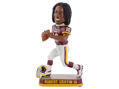 Washington Redskins Robert Griffin III Springy Logo Bobble