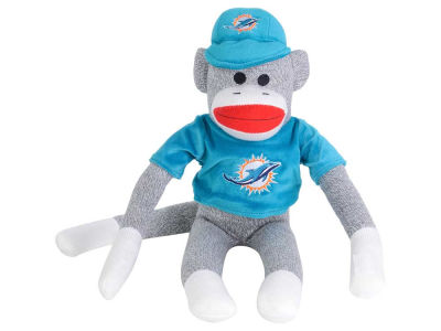 Miami Dolphins Sock Monkey