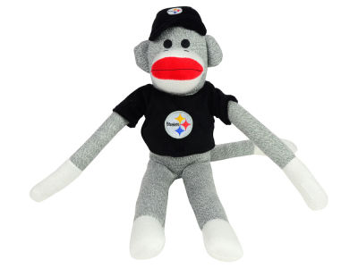 Pittsburgh Steelers Sock Monkey