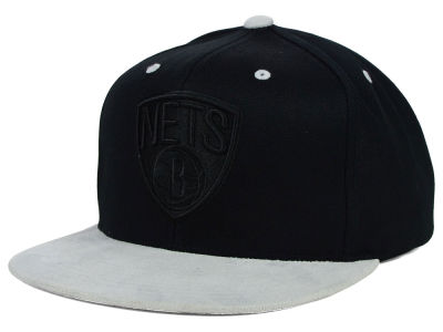 Brooklyn Nets Mitchell and Ness NBA W-Blend Snapback Cap