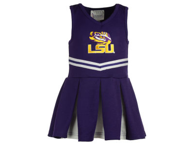 LSU Tigers Atlanta Hosiery NCAA Toddler Cheer Dress