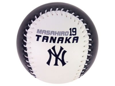New York Yankees Masahiro Tanaka The Original Team Logo Baseball
