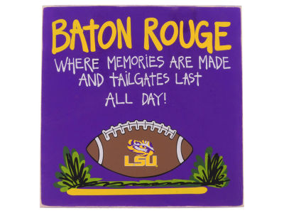 LSU Tigers Tailgate Board