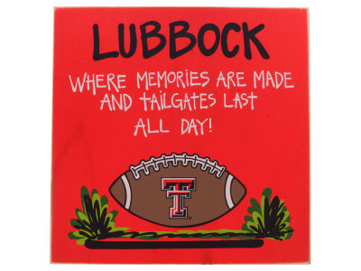 Texas Tech Red Raiders Tailgate Board