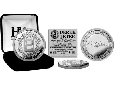New York Yankees Derek Jeter Silver Mint Coin
