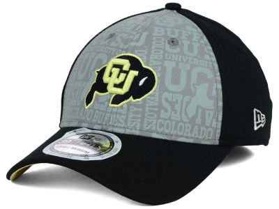 Colorado Buffaloes New Era NCAA Reflective Training Mesh 39THIRTY Cap