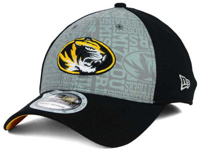 Missouri Tigers New Era NCAA Reflective Training Mesh 39THIRTY Cap