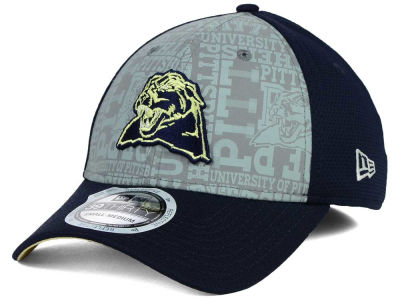 Pittsburgh Panthers New Era NCAA Reflective Training Mesh 39THIRTY Cap