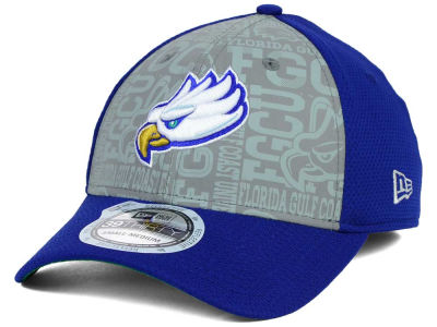 Florida Gulf Coast Eagles New Era NCAA Reflective Training Mesh 39THIRTY Cap