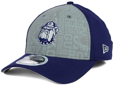 Georgetown Hoyas New Era NCAA Reflective Training Mesh 39THIRTY Cap