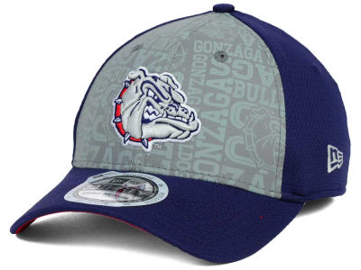 Gonzaga Bulldogs New Era NCAA Reflective Training Mesh 39THIRTY Cap