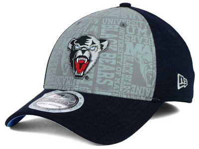 Maine Black Bears New Era NCAA Reflective Training Mesh 39THIRTY Cap