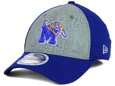 Memphis Tigers New Era NCAA Reflective Training Mesh 39THIRTY Cap