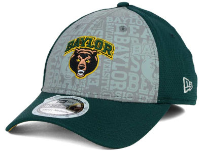 Baylor Bears New Era NCAA Reflective Training Mesh 39THIRTY Cap
