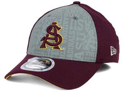 Arizona State Sun Devils New Era NCAA Reflective Training Mesh 39THIRTY Cap