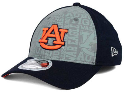 Auburn Tigers New Era NCAA Reflective Training Mesh 39THIRTY Cap