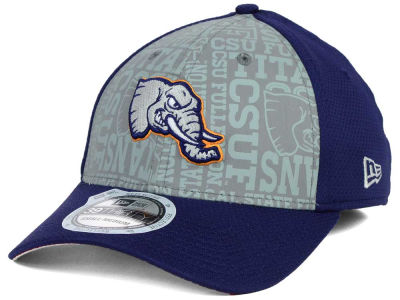 Cal State Fullerton Titans New Era NCAA Reflective Training Mesh 39THIRTY Cap