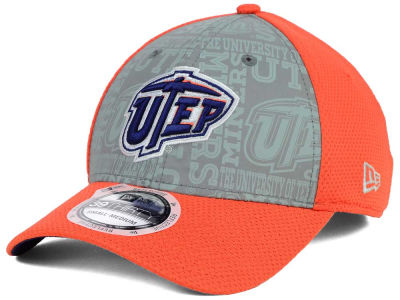 UTEP Miners New Era NCAA Reflective Training Mesh 39THIRTY Cap