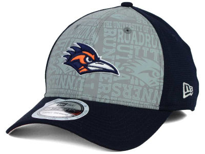 University of Texas San Antonio Roadrunners New Era NCAA Reflective Training Mesh 39THIRTY Cap