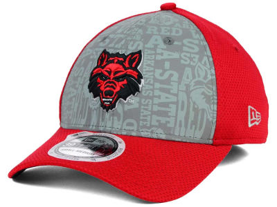 Arkansas State Red Wolves New Era NCAA Reflective Training Mesh 39THIRTY Cap