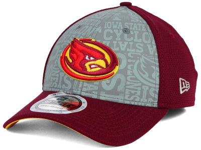 Iowa State Cyclones New Era NCAA Reflective Training Mesh 39THIRTY Cap