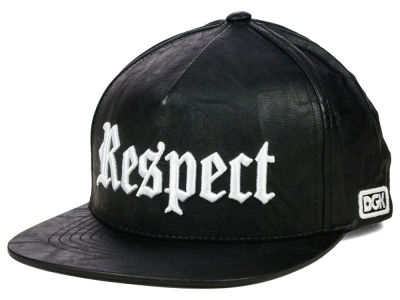 DGK Respect Leather Snapback Hat