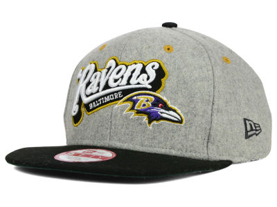 Baltimore Ravens New Era NFL Meltone 9FIFTY Snapback Cap