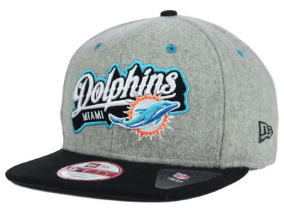 Miami Dolphins New Era NFL Meltone 9FIFTY Snapback Cap