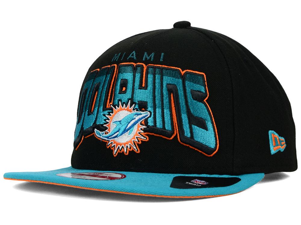 Miami Dolphins New Era NFL All Colors 9FIFTY Snapback Cap  e9d9698b86dc